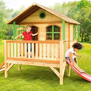 Casette in legno per bambini guida utile alla scelta ed - Casette in legno per giardino ...