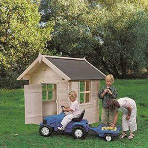 gartenpro casetta in legno per bambini